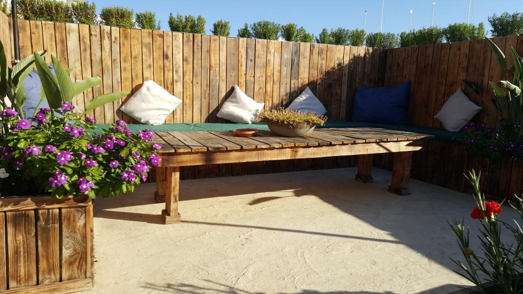 rooftop garden: lounge
