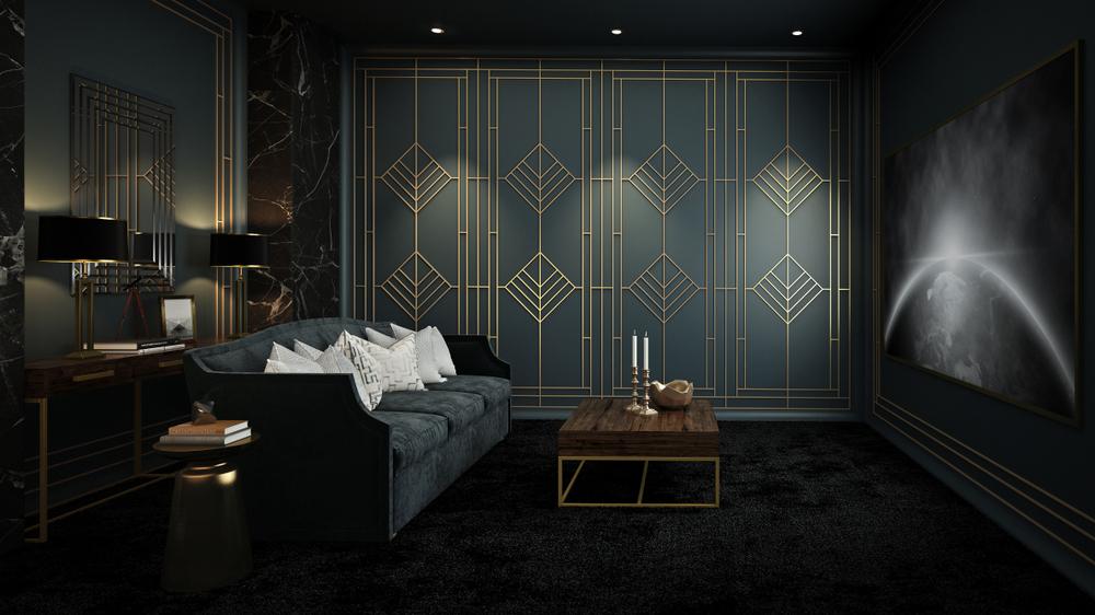 interior design style: art deco