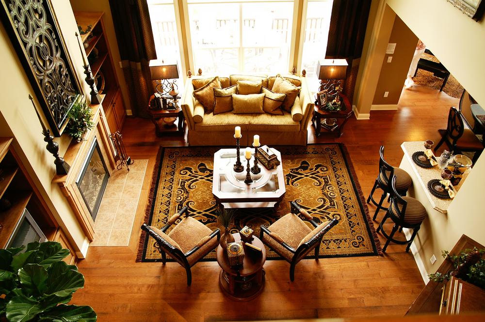 Interior design: traditional