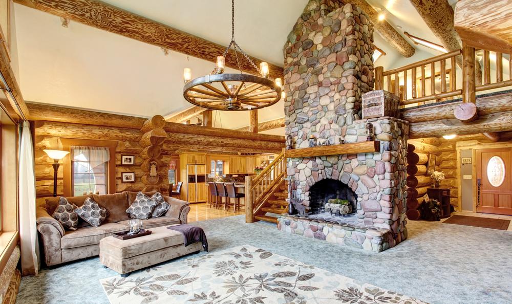 Interior design: rustic