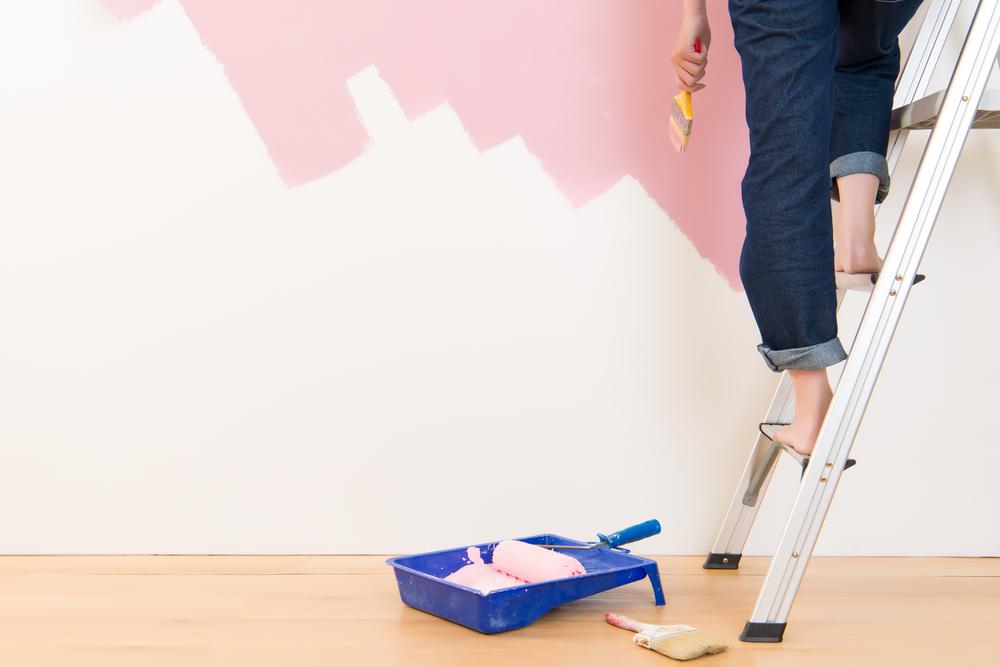 renovations: repainting walls