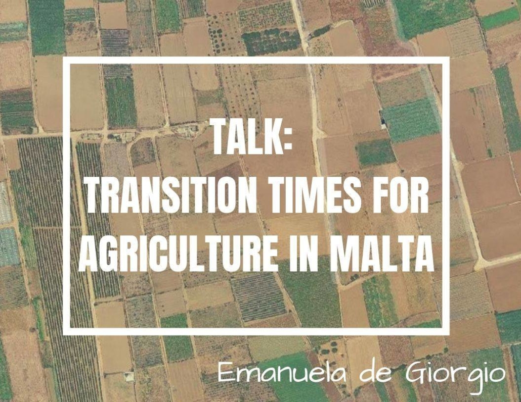 transition times for agriculture in Malta