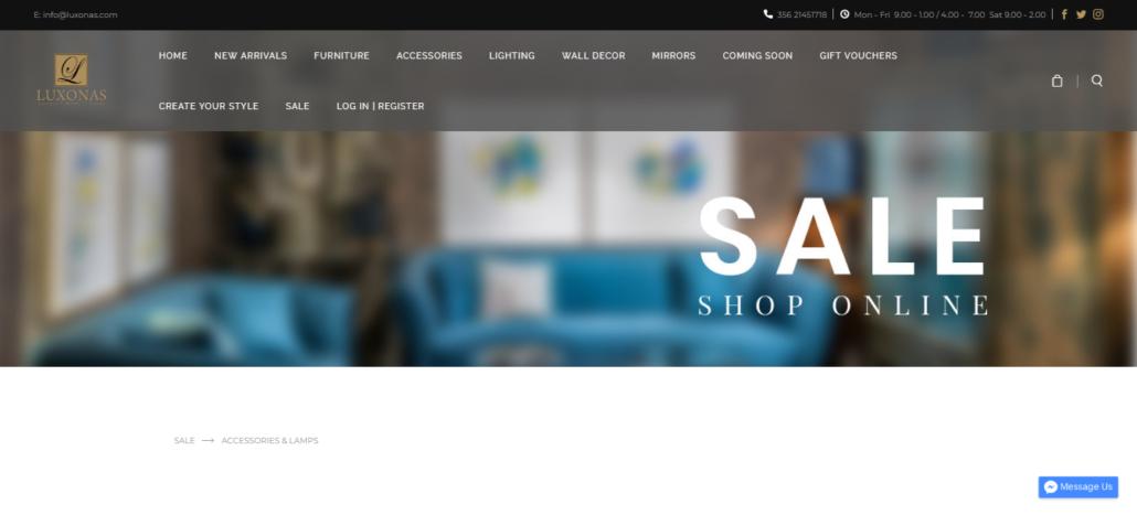 luxonas homepage
