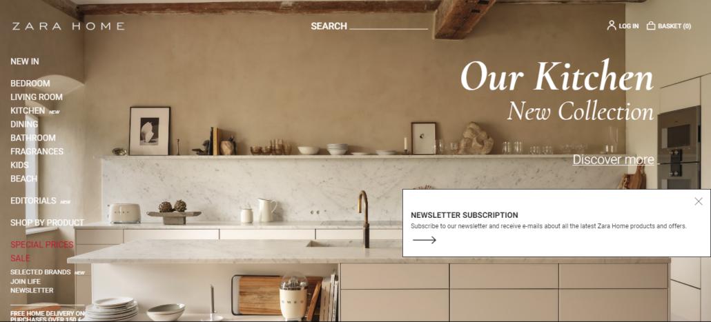 zarahome malta homepage