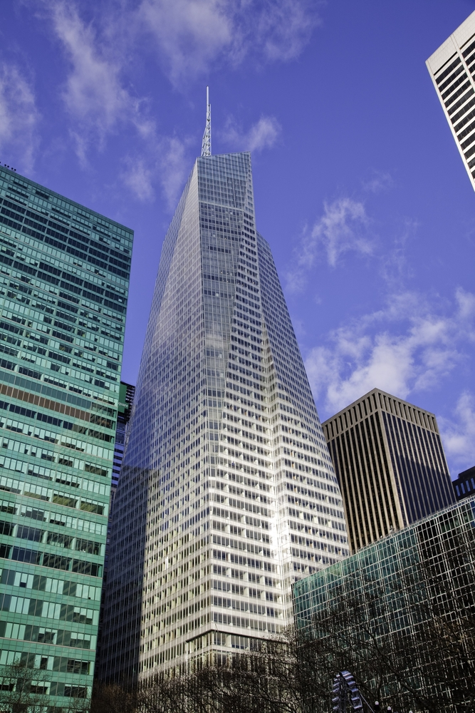 One Bryant Park's Bank of America Tower, New York