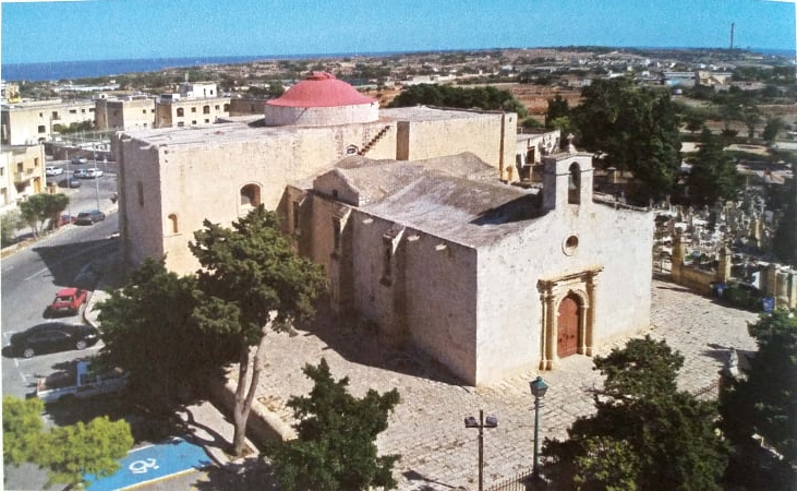 The Old Church of St Catherine's (known as St Gregory church) in Żejtun