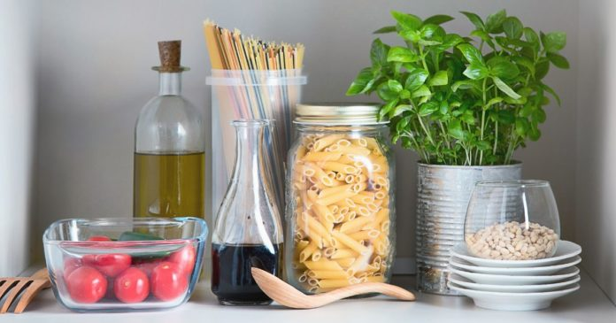 storing food and reducing waste